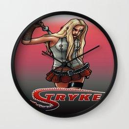Stryke by Everette Hartsoe Wall Clock
