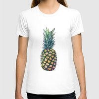 pineapple T-shirts featuring Pineapple by Michaela Ramstedt