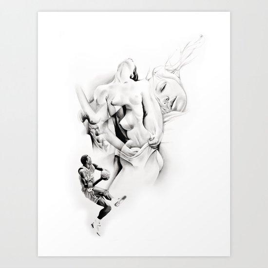 "P.O.A.M (Portrait of a Memory) ""S"" Art Print"