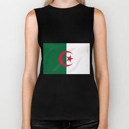 Algeria Flag Biker Tank