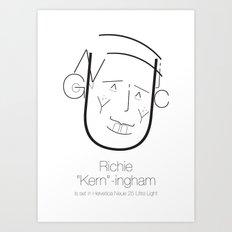 Richie 'Kern'-ingham Art Print