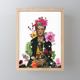 I want to be inside your darkest everything Framed Mini Art Print