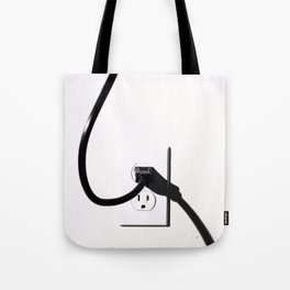 Male and Female Tote Bag