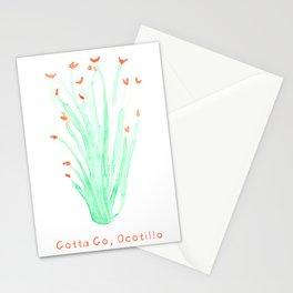 Gotta Go, Ocotillo Stationery Cards