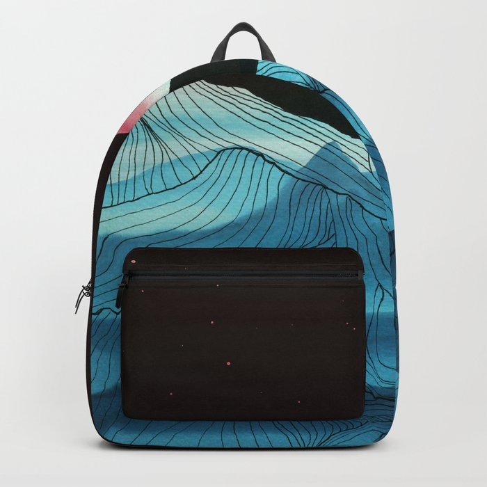 Lines in the mountains XV Backpack