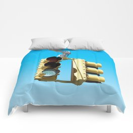 Traffic Lights Comforters