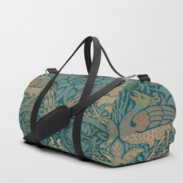 Gothic William Morris Duffle Bag