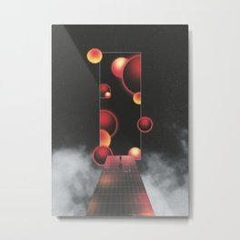Void Vibes Only Metal Print