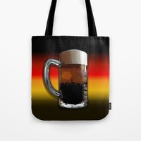 german Tote Bags featuring German Sunset by G.B.Artdesign