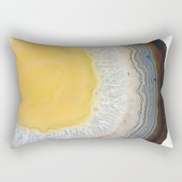 agate slice no. 3 Rectangular Pillow