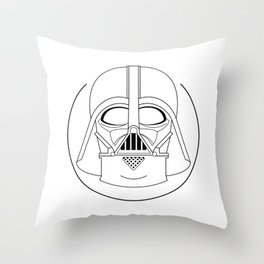 Darth Vader. Throw Pillow