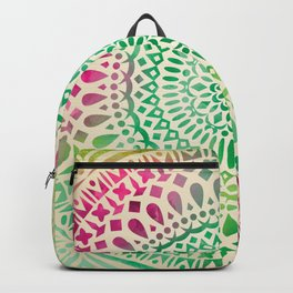 mandala11 Watercolor Mandala Backpack