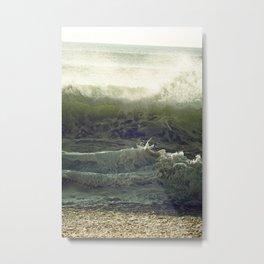 Liquid Fury Metal Print