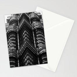 kuala lumpur bulding Stationery Cards