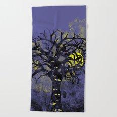 The Vision Tree Beach Towel