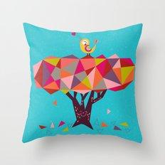 tweet, tweet! Throw Pillow