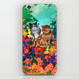 Fitzroy the Cat iPhone Skin