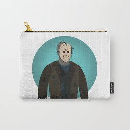 Jason Voorhees (Freddy vs Jason style) Carry-All Pouch