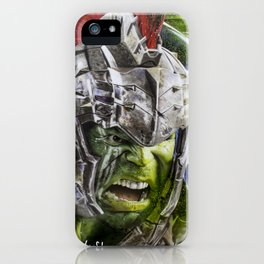 Hulk Ragnarok Rafart iPhone Case