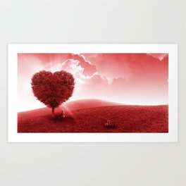Feel the Love Art Print