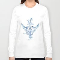 triforce Long Sleeve T-shirts featuring Water Triforce by bivisual