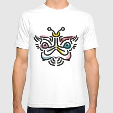 Goddess II Mens Fitted Tee White SMALL