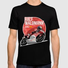 Ralf Waldmann - 1997 Jerez Mens Fitted Tee MEDIUM Black
