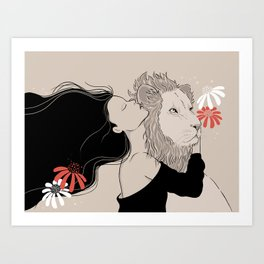 Secrets to the King Art Print