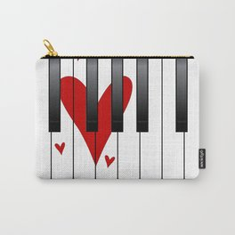 Love Piano Carry-All Pouch