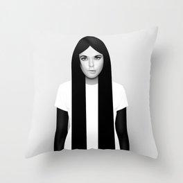 'K' Throw Pillow
