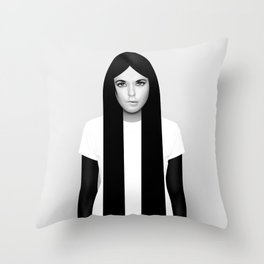 'K' Throw Pillow