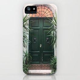 Doors of Rome, Green cactus iPhone Case