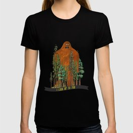 I Look up to You (Bigfoot in the Forest) T-shirt