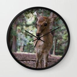 Nara Deer Wall Clock