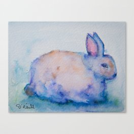 Gertie the Rabbit Canvas Print