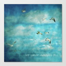 Let Your Dreams Fly Canvas Print