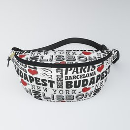 Cities Fanny Pack