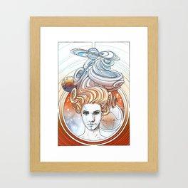 Cecily Framed Art Print