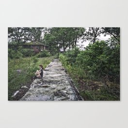Welcome To The Jungle Canvas Print