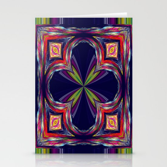 Colorful Square Stationery Cards