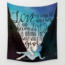 The Love That Split The World - Being Loved Wall Tapestry