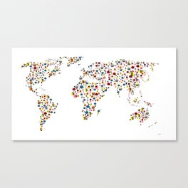 It takes ALLSORTS to make a world Canvas Print
