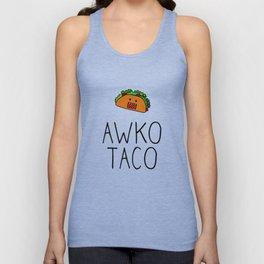 Awko Taco Domo Unisex Tank Top