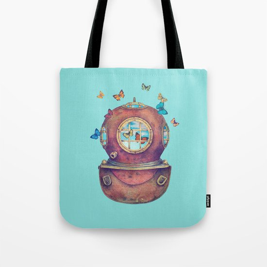 Inner Space - colour option Tote Bag