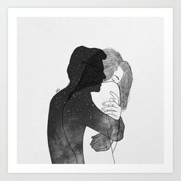 I need you, even if it's only in my mind. Art Print