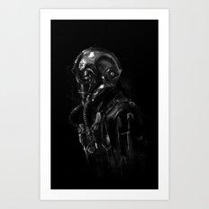 Pilot 01 Art Print
