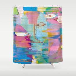 Rearranged (Light) Shower Curtain