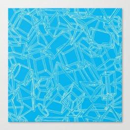 Geojumble Three Canvas Print
