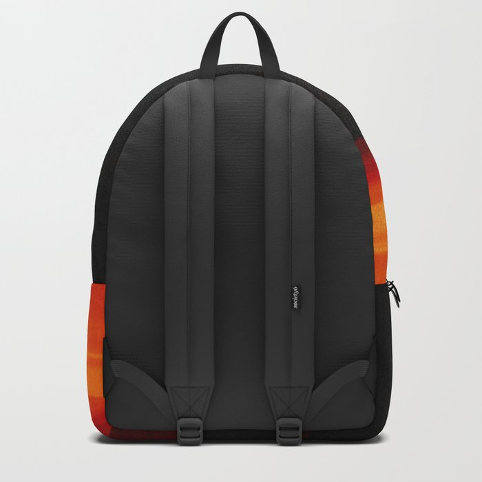 Red Horizon, Fire in the Distance. Backpack