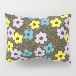 Dots & Flowers Pillow Sham